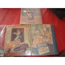 Coleccion 4 Antigua Publicidad Terrabussi Carton 1936/40