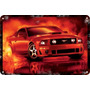 Carteles Antiguos Chapa 60x40cm Ford Mustang Shelby Au-048