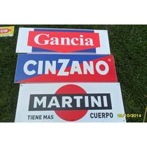 Réplica Antiguo Cartel Gancia Cinzano Martini, Miden 62 X 24