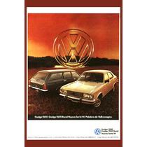 Carteles Antiguos 60x40cm Chrysler Dodge Vw 1500 Au-188