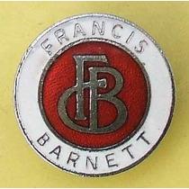 Carteles Antiguos Chapa Gruesa 50cm Francis Barnett Moto 188