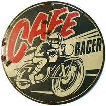 Carteles Antiguos 1metro (100cm) Chapa 1.25 Café Racer A-021