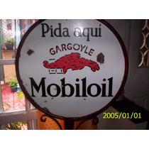 Cartel Enlosado De Pie Mobiloy Gargoyle