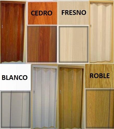 Colores madera roble images for Puertas plegadizas de madera