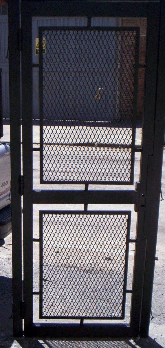 Puertas y rejas de seguridad misterlock car interior design - Puertas de reja ...