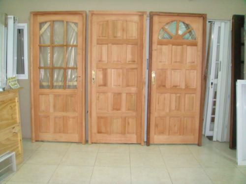 Modelo puertas de madera imagui for Modelos de puertas de madera