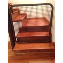 Puerta Metalica Para Escalera Proteccion Niños / Mascotas