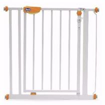 Puerta De Seguridad Metálica Protección Escalera Chicco