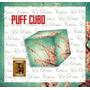 Puff Cubo De Madera Reforzado De Cuerina Con Funda Estampada