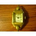 Antiguo Reloj Dama Capello 17j Funciona Plaque Oro 18kt 10m