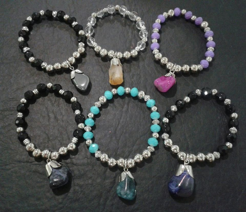 Pulseras de piedras naturales moda 2015 472901 for Piedras naturales