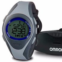 Reloj Omron Hr-310 + Monitor Frecuencia Cardíaca Modo Touch