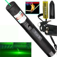 Puntero Laser Verde 1000mw Recargable Foco Ajutable Quema