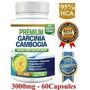 Pure Garcinia Cambogia Premium 95% Hca 3000 Mg, Max Concetra