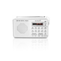Radio Digital Am Fm Ken Brown Dx545 Usb Mp3 Sd Recargable