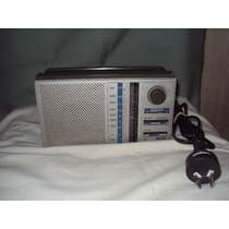 Radio Philips D2000 A Pilas Y Cable