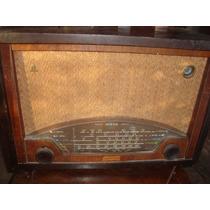 Antigua Radio A Valvula Odeon Ojo Magico Sin Funcionar