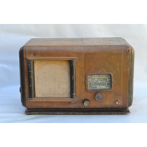 Antigua Radio A Válvulas Broadcast