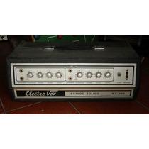 Amplificador De Los 70/80 Electrovox 100w No Valvular (---)
