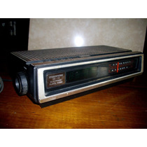 Antiguo Radio Reloj Marca Brand Stereophonic Am / Fm El 320