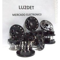 Zocalos Para Valvulas Electronicas Ul12 / El12 / Um11 / Em11