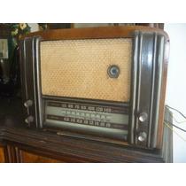 Radio A Valvulas/radio Antigua/radio De Madera