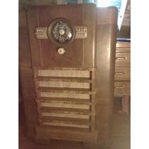Radio A Valvula 1,06 X 0,72 X 0,39cm Madera Zenith
