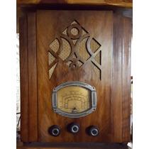 Radio Antigua Tipo Capilla Años 30 Funcionando
