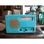 Antigua Radio De Chapa A Valvulas Usa Detrola Modelo 568