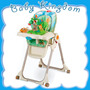 Silla Comer Fisher Price Rainforest 7 Alturas 3 Reclinados.