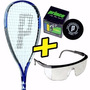 Raquetas Squash Prince Tf-2 Series + Funda + Gafas + Pelota