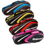 Bolso Raquetero Babolat Club Line Raquetas 6 Azul Rojo Rosa