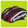 Bolso Paletero Babolat Padel Team X10 Mochila Bag Paletas