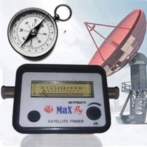 Satfinder Buscador Satelital Fta + Brujula America Skyfreetv