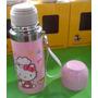 Termo De Acero Con Diseño Hello Kitty De 350 Ml