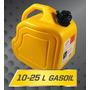 Bidón Para Combustible Homologado Gas Oil 25 Litros