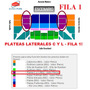 Entradas Luciano Pereyra Plateas Laterales Fila 1 Lo Mejor!!