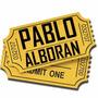 Entradas Pablo Alboran - Gran Rex - Platea Primeras Filas