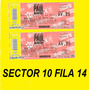 Entradas Paul Mc Cartney Platea Pref 10 17/5, Reputacion!!