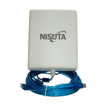 Antena Wifi Exterior Cpe310 12dbi Cable 10m Auditoria 33dbm