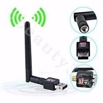 Adaptador Usb Wifi Nano Mini N150mbps 2dbi Antena Plug&play