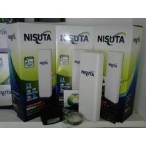 Internet Cpe Nisuta 150 Mbps Wifi 600mw 2.4ghz 12db
