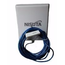 Antena Wifi 10mts+programa Para Cleve Wifi Internet Gratis