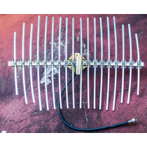 Antena Grillada 21 Dbi 2.4 Ghz Impecable!