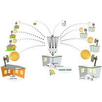 Nodo Wireless Omni Completo 2.4 Ghz Hasta 20 Clientes Y 5 Km