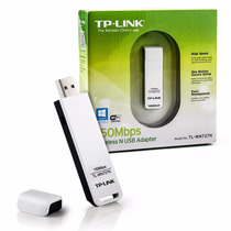 Placa De Red Wifi 150 Mbps Tp-link Tl-wn727n Adaptador Usb