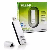 Placa De Red Wifi 150 Mbps Tp-link Tl-wn727n Adaptador Usb