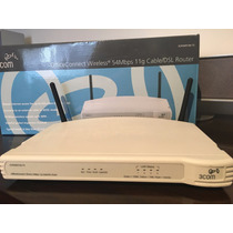 Router Wifi 3com Officeconnect 54mbps 11g Cable/dsl