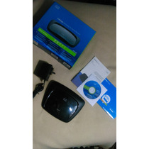 Router Linksys By Cisco Wifi Wrt120n Completo