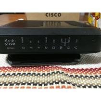 Modem Router Cisco Dpc2420 Wifi Voip C/ Fuente